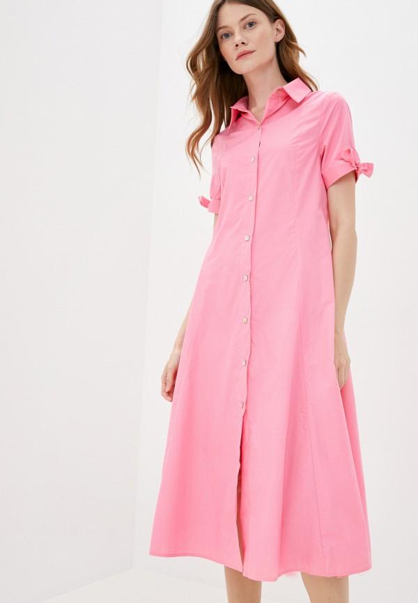 женское платье sweewe, розовое