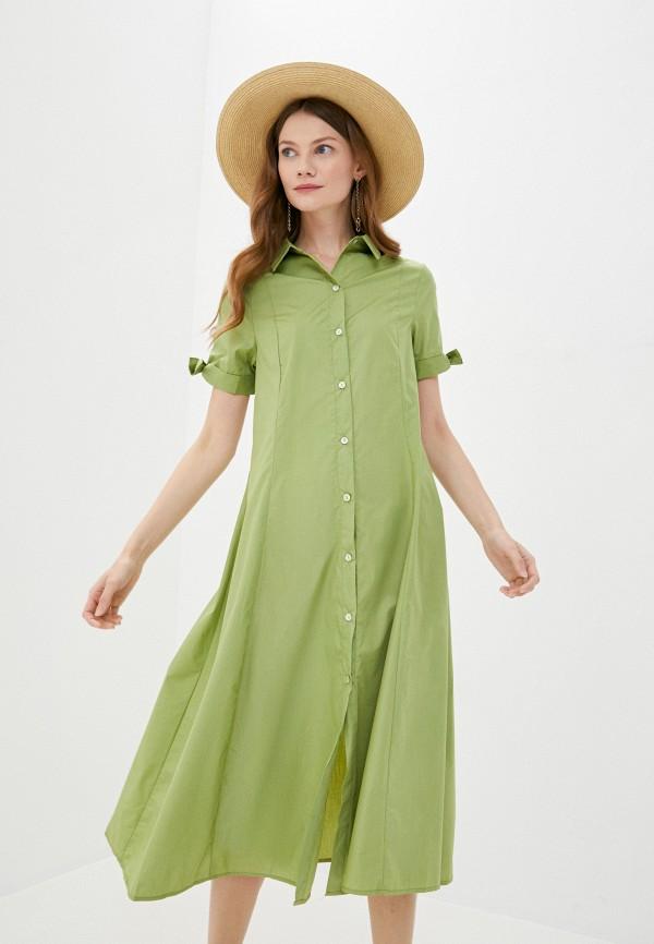 женское платье sweewe, зеленое