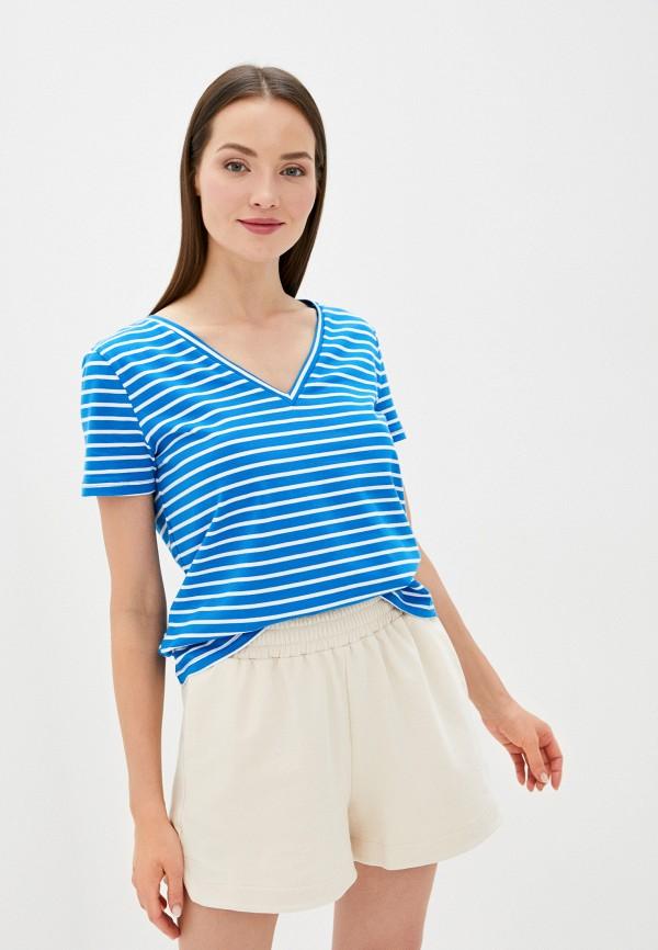 женская футболка sweewe, синяя