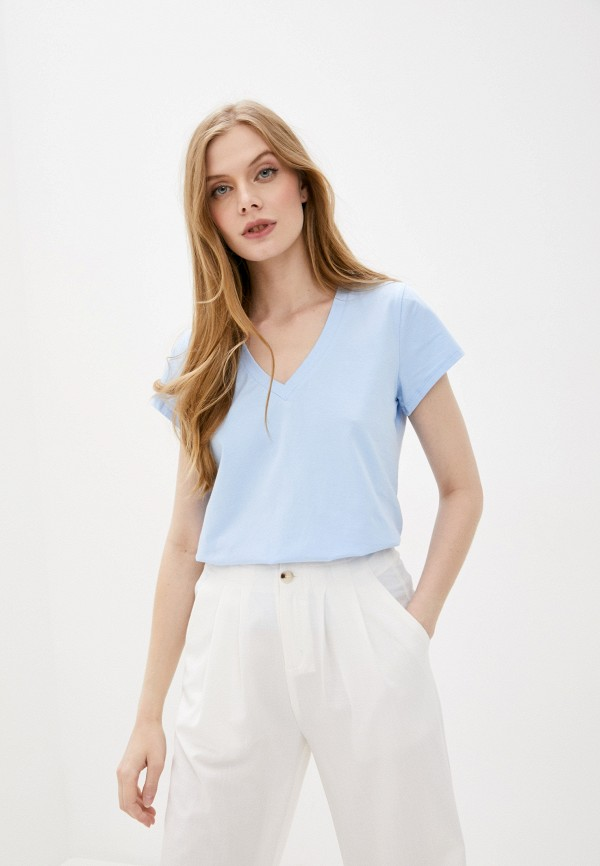 женская футболка sweewe, голубая