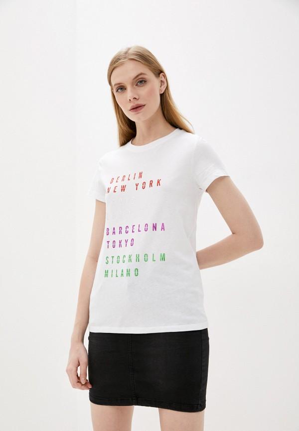 женская футболка sweewe, белая