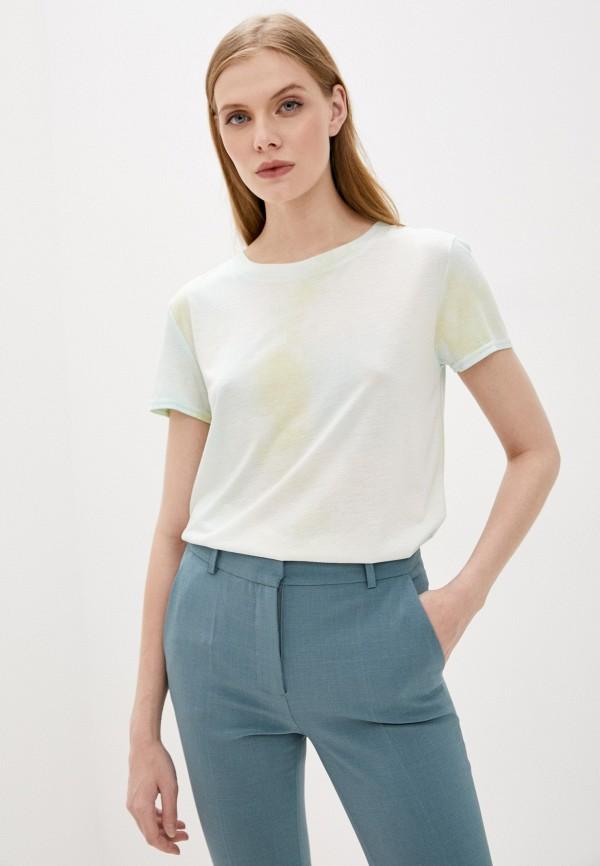 женская футболка sweewe, зеленая