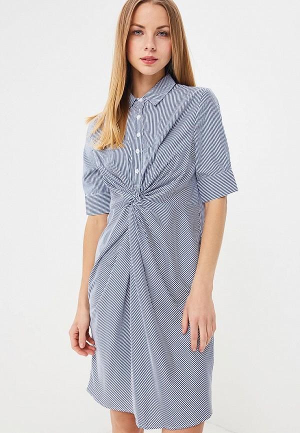 женское повседневные платье sweewe, синее