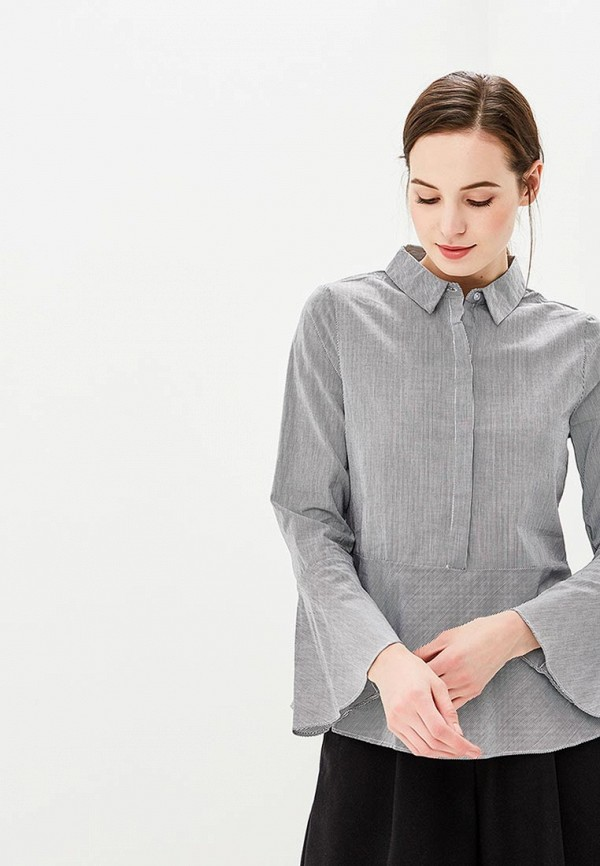 Купить Блуза Sweewe, sw007ewxax72, серый, Весна-лето 2018