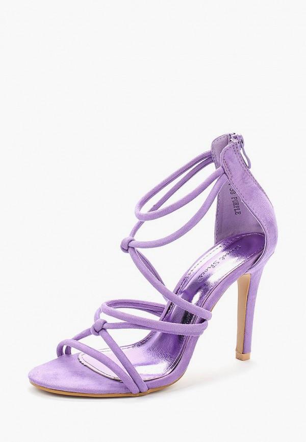 Купить Босоножки Sweet Shoes, sw010awazpv1, фиолетовый, Весна-лето 2018