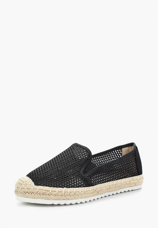 Эспадрильи Sweet Shoes, sw010awazpy4, черный, Весна-лето 2018  - купить со скидкой