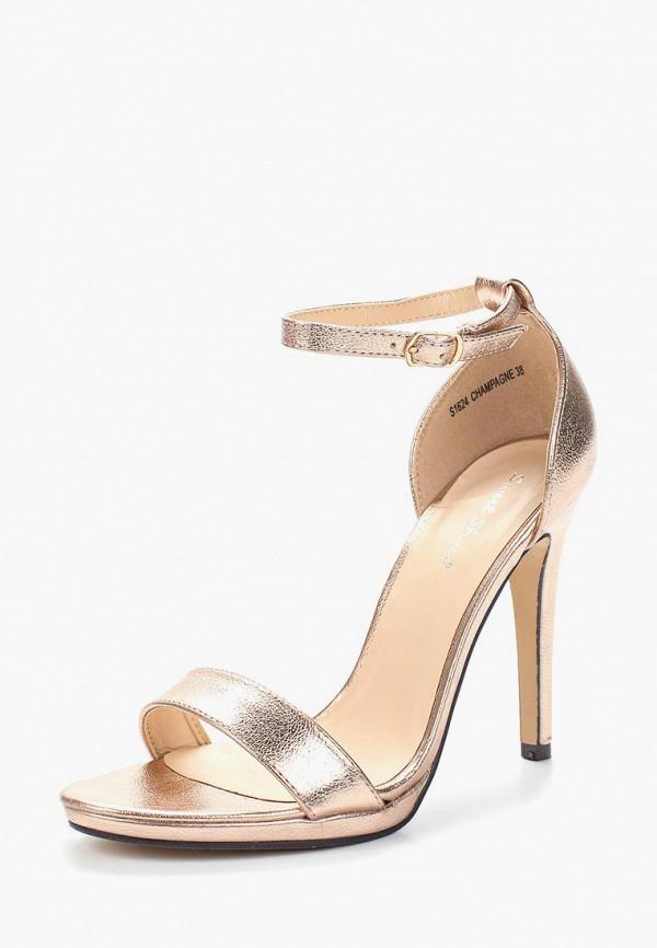 Купить Босоножки Sweet Shoes, SW010AWAZQF8, золотой, Весна-лето 2018