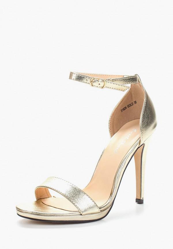 Босоножки Sweet Shoes, SW010AWAZQF9, золотой, Весна-лето 2018  - купить со скидкой