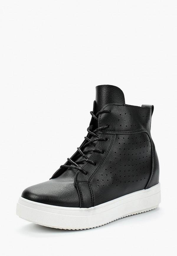Купить Кеды на танкетке Sweet Shoes, sw010awazqh1, черный, Весна-лето 2018