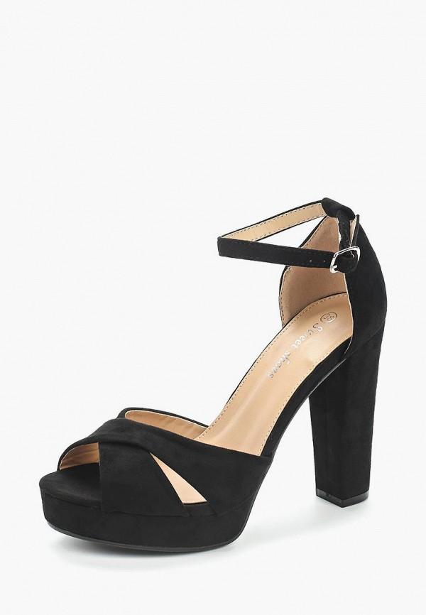 Купить Босоножки Sweet Shoes, sw010awbapr4, черный, Весна-лето 2018