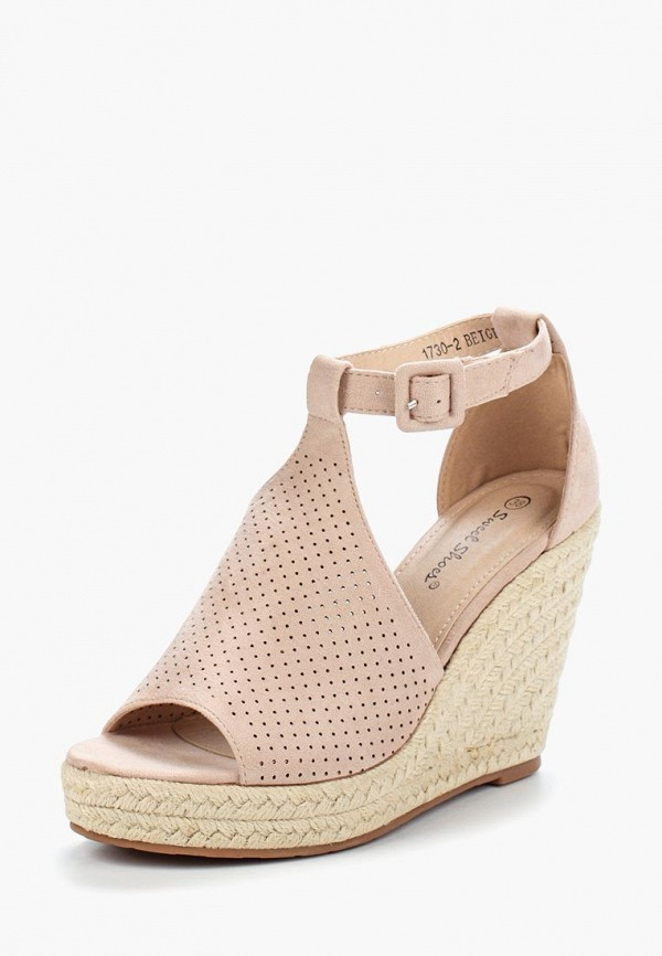 Купить Эспадрильи Sweet Shoes, SW010AWBKSD2, бежевый, Весна-лето 2018