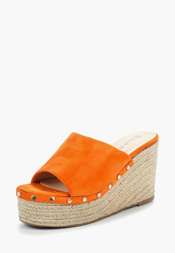 Купить Эспадрильи Sweet Shoes, sw010awbkse5, оранжевый, Весна-лето 2018