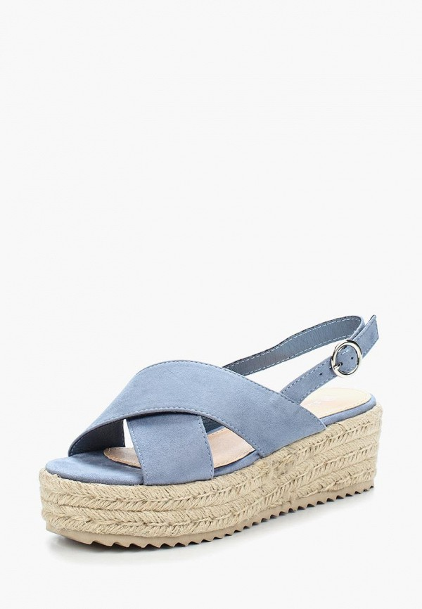 Купить Эспадрильи Sweet Shoes, SW010AWBKWI4, голубой, Весна-лето 2018