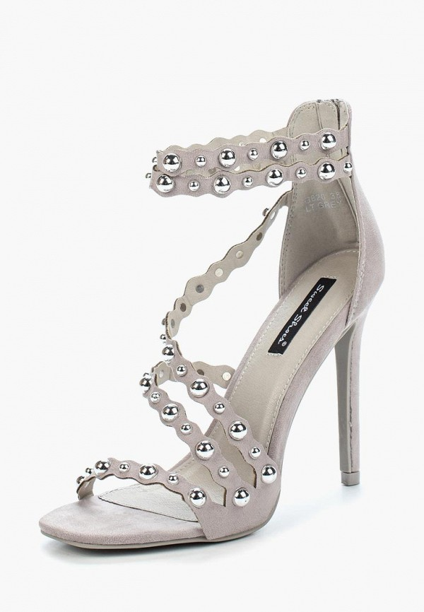 Купить Босоножки Sweet Shoes, SW010AWBKWJ5, серый, Весна-лето 2018