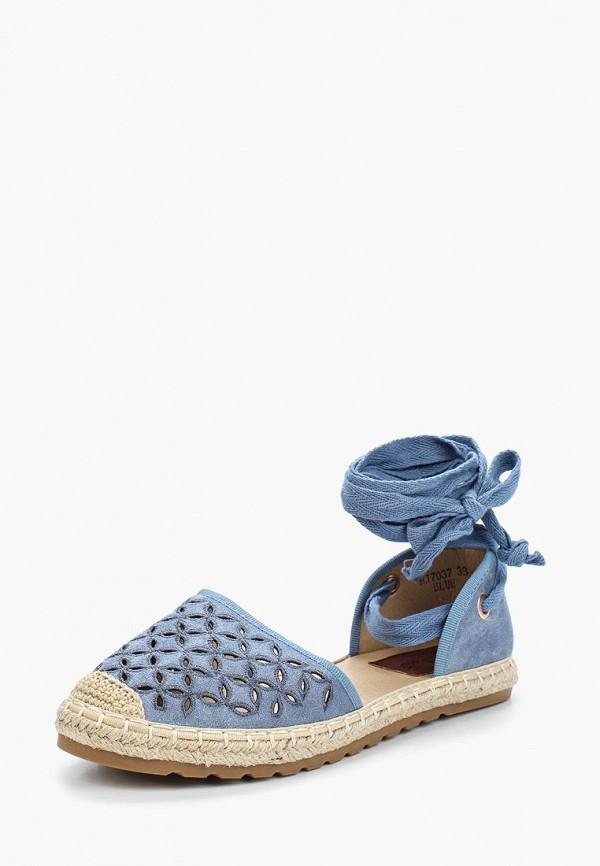 Купить Эспадрильи Sweet Shoes, SW010AWBKWK1, голубой, Весна-лето 2018