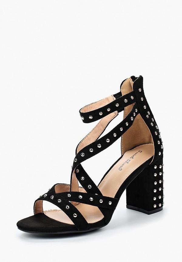 Купить Босоножки Sweet Shoes, sw010awbkwk3, черный, Весна-лето 2018