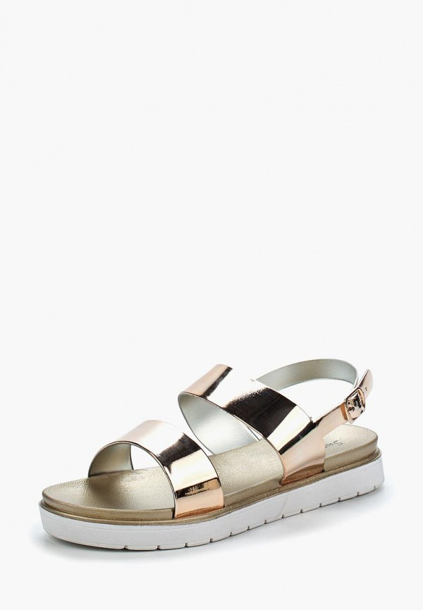Купить Сандалии Sweet Shoes, sw010awbkxh1, золотой, Весна-лето 2018