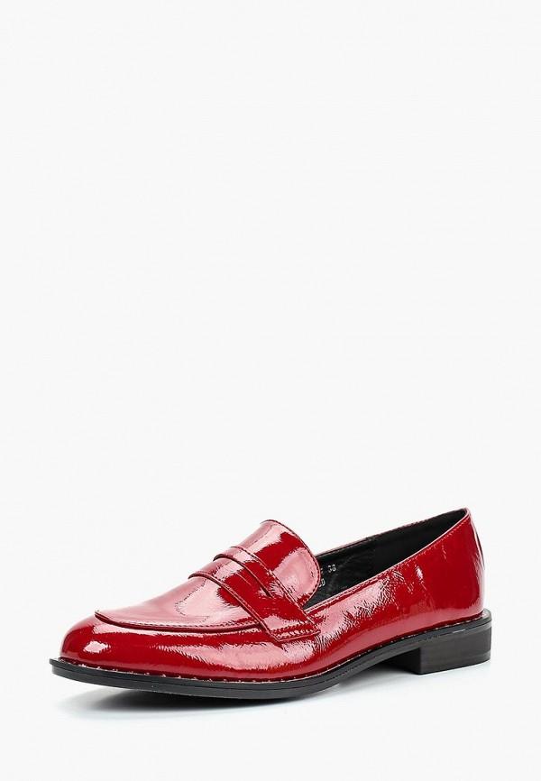 Купить Лоферы Sweet Shoes, SW010AWCNYO4, красный, Осень-зима 2018/2019