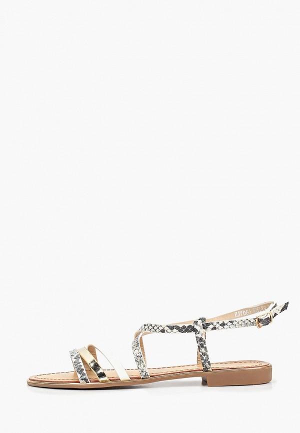 женские сандалии sweet shoes, серые