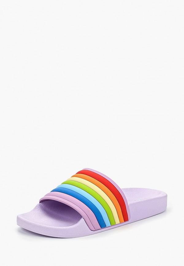 Фото 2 - Сланцы Sweet Shoes разноцветного цвета