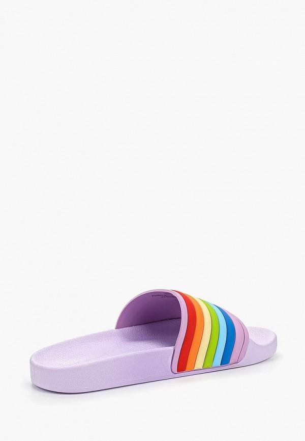 Фото 3 - Сланцы Sweet Shoes разноцветного цвета