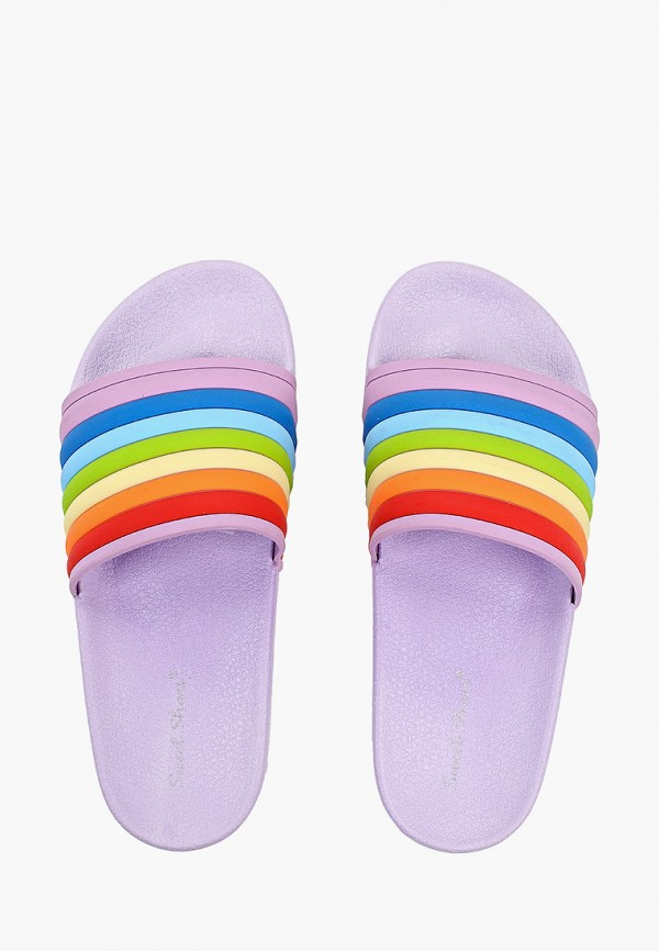 Фото 4 - Сланцы Sweet Shoes разноцветного цвета