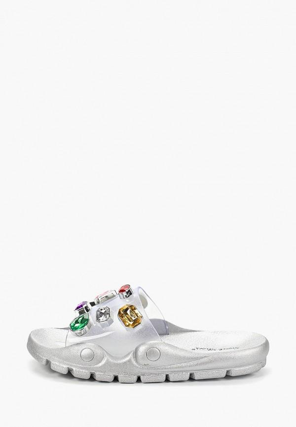 Фото - Сланцы Sweet Shoes серебрянного цвета