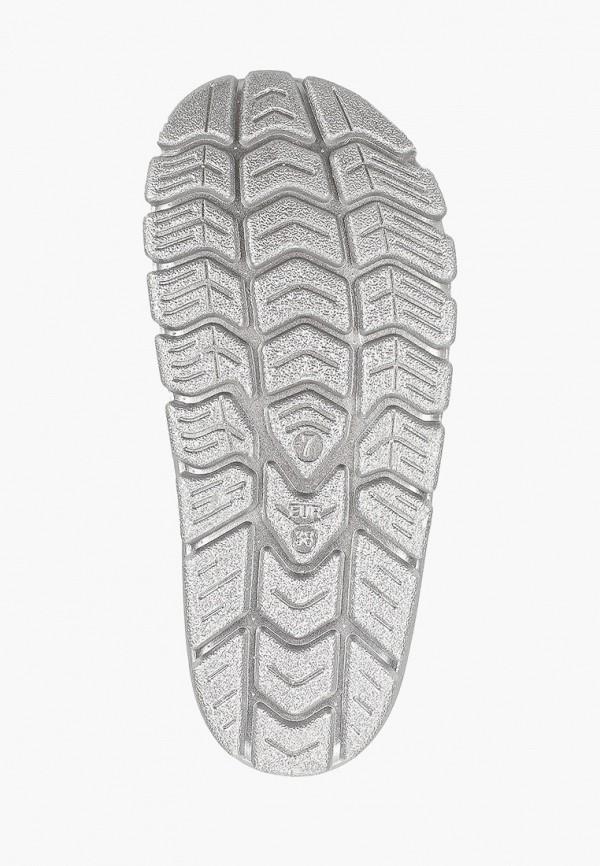 Фото 5 - Сланцы Sweet Shoes серебрянного цвета