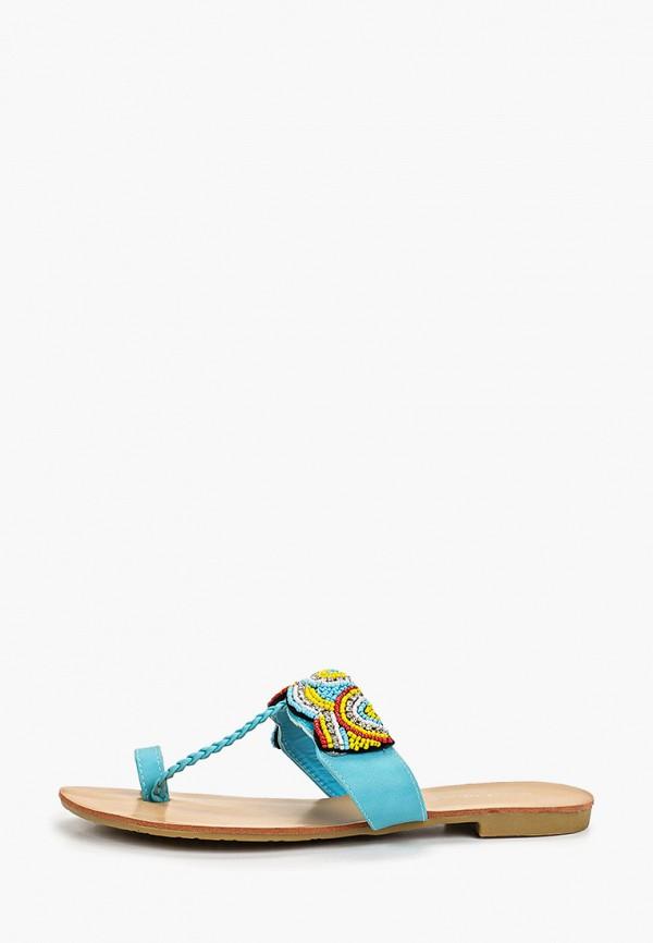 женское сабо sweet shoes, голубое