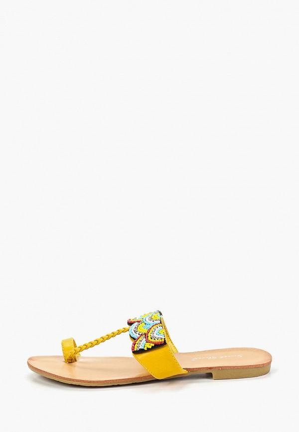 Купить Сандалии Sweet Shoes, sw010awfdxd9, желтый, Весна-лето 2019