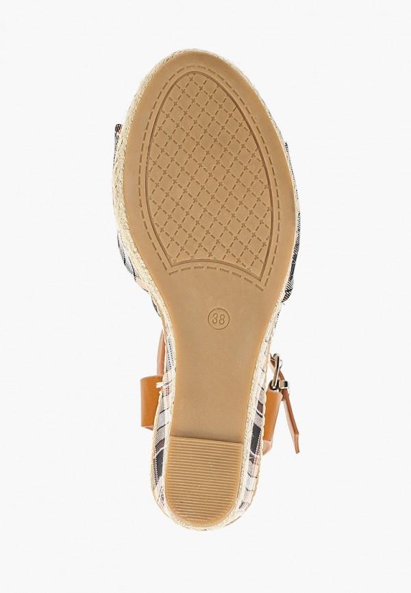 Фото 5 - женские босоножки Sweet Shoes коричневого цвета