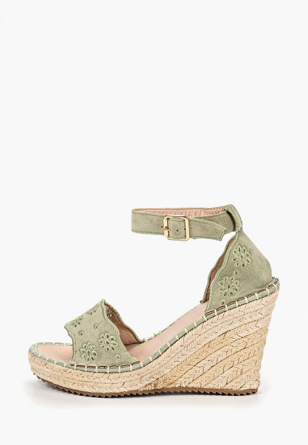 Фото - Эспадрильи Sweet Shoes зеленого цвета