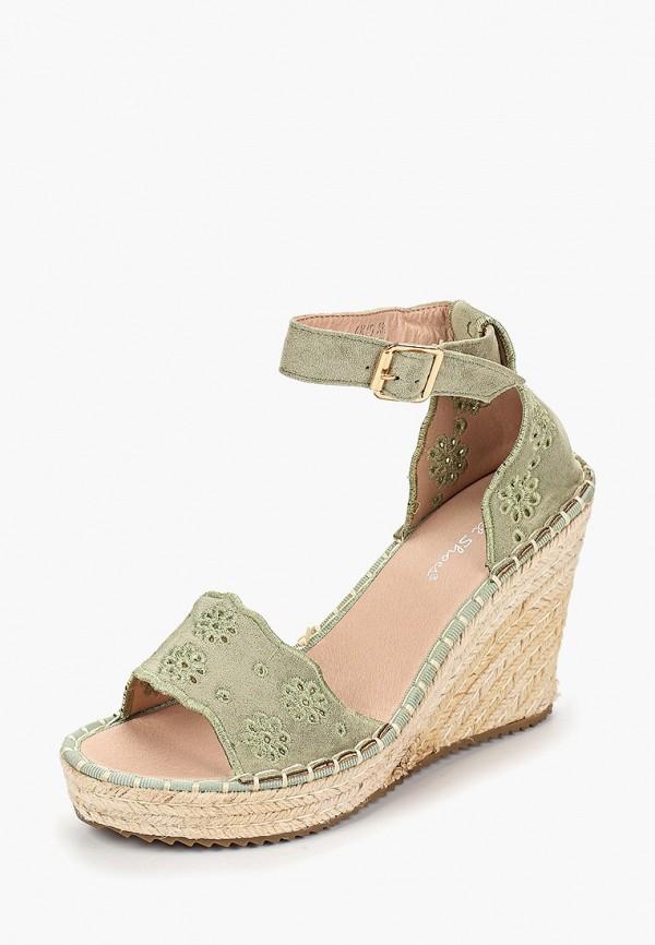 Фото 2 - Эспадрильи Sweet Shoes зеленого цвета