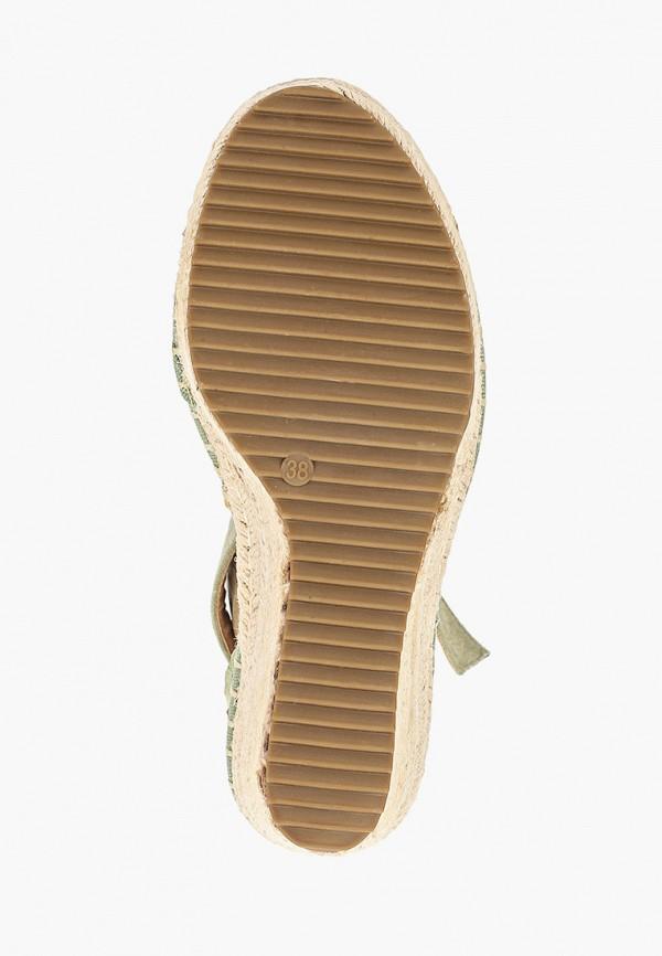 Фото 5 - Эспадрильи Sweet Shoes зеленого цвета