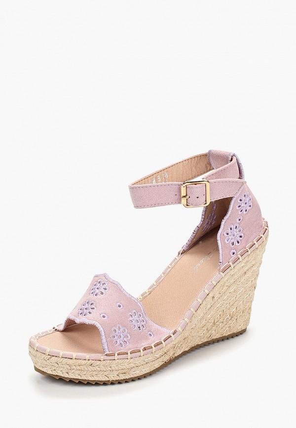 Фото 2 - Эспадрильи Sweet Shoes розового цвета
