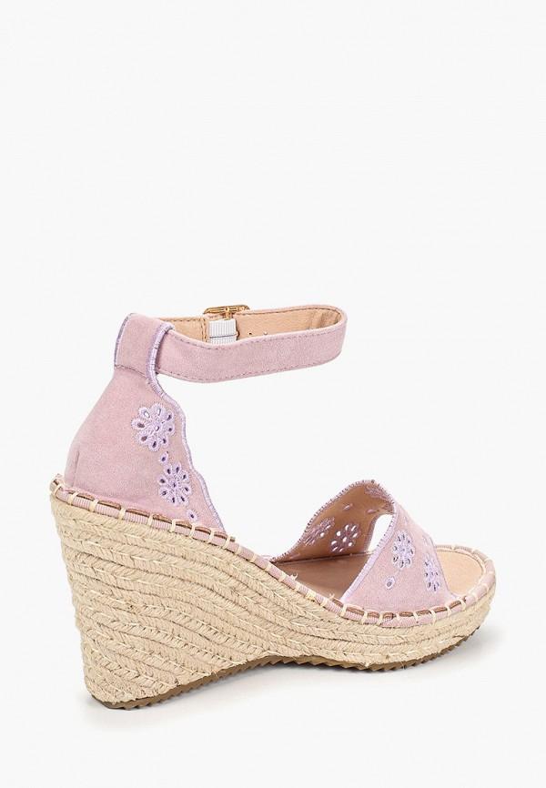 Фото 3 - Эспадрильи Sweet Shoes розового цвета