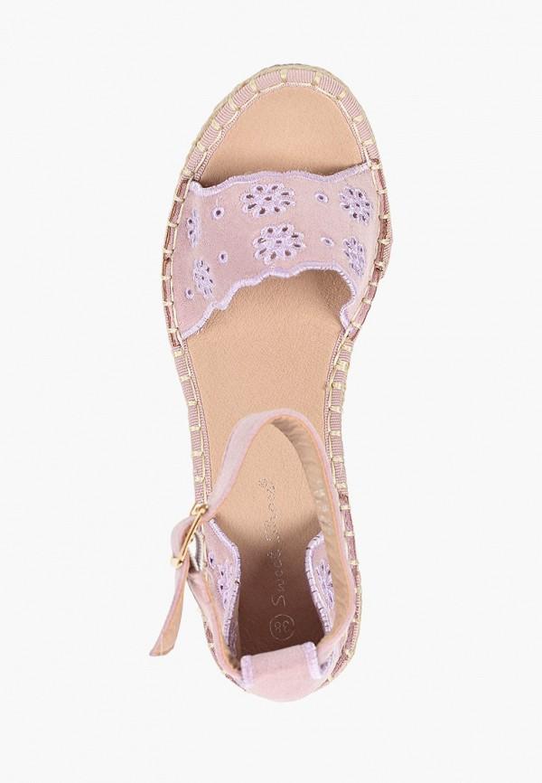 Фото 4 - Эспадрильи Sweet Shoes розового цвета