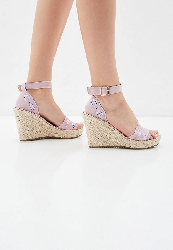 Фото 6 - Эспадрильи Sweet Shoes розового цвета