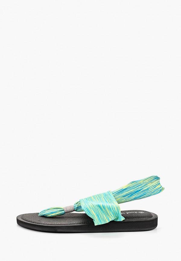 женские сандалии sweet shoes, зеленые