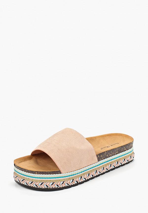 Фото 2 - женские сабо Sweet Shoes бежевого цвета