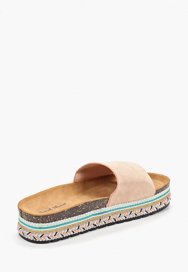 Фото 3 - женские сабо Sweet Shoes бежевого цвета