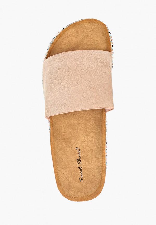 Фото 4 - женские сабо Sweet Shoes бежевого цвета