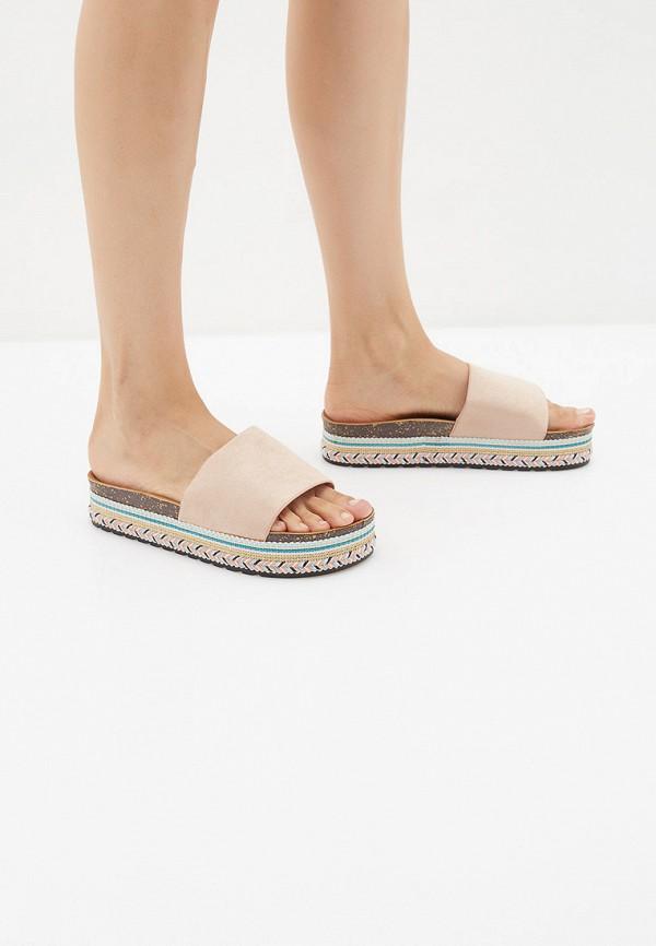 Фото 6 - женские сабо Sweet Shoes бежевого цвета