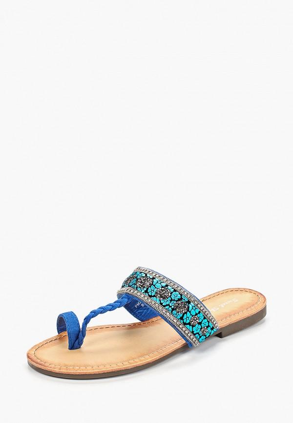 Фото 2 - женские сабо Sweet Shoes синего цвета