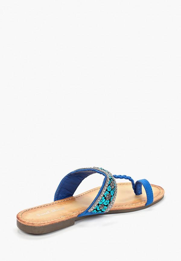 Фото 3 - женские сабо Sweet Shoes синего цвета