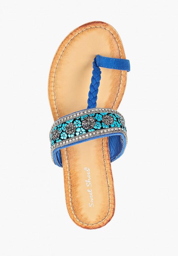 Фото 4 - женские сабо Sweet Shoes синего цвета