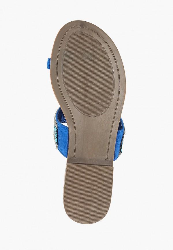 Фото 5 - женские сабо Sweet Shoes синего цвета