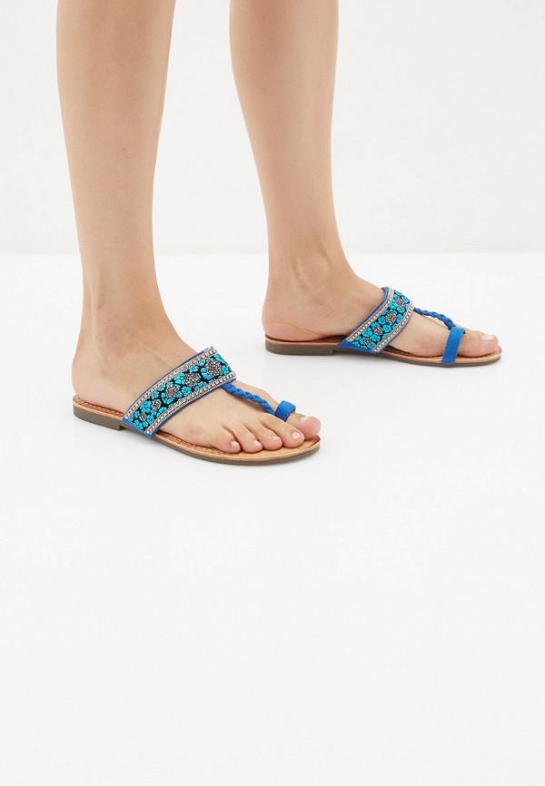 Фото 6 - женские сабо Sweet Shoes синего цвета