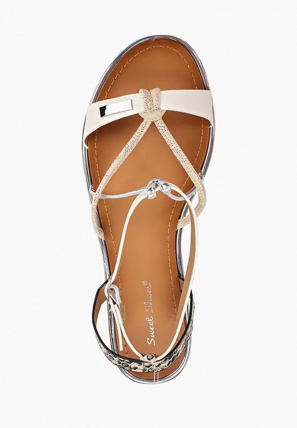 Фото 4 - женские сандали Sweet Shoes белого цвета
