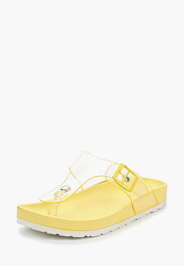 Фото 2 - Сланцы Sweet Shoes желтого цвета